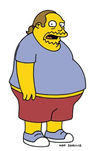 Comic Book Guy from the Simpsons