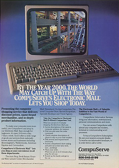 CompuServe ad