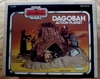 Empire Strikes Back Dagobah Action Playset
