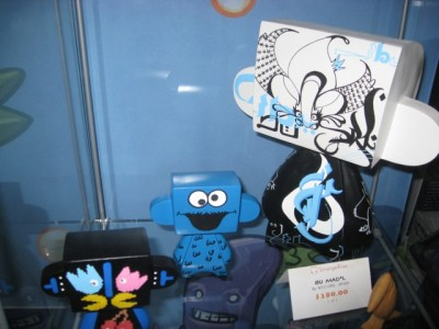 Strange Kiss exclusives for SDCC2009 8 bits pac man by MAD*L)