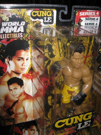 UFC fighting toys.