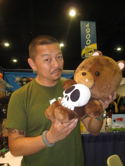 Patrick Ma of Rocket World with his new release plush