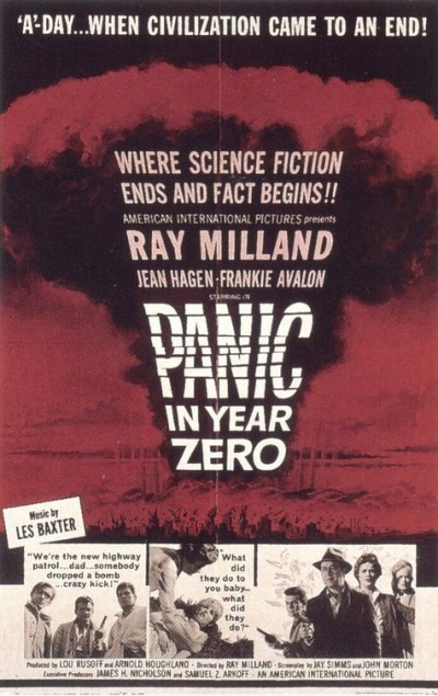 Panic in Year Zero: Film Poster from 1962