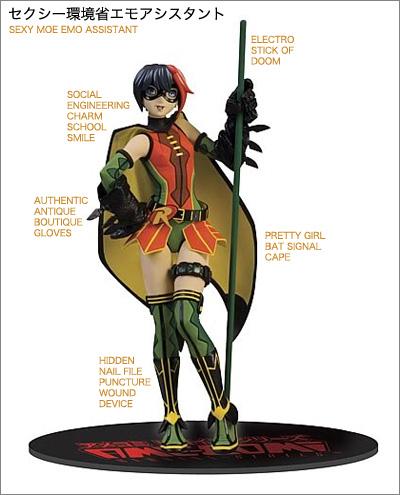 Robin Ame Comi Robin Vinyl Statue