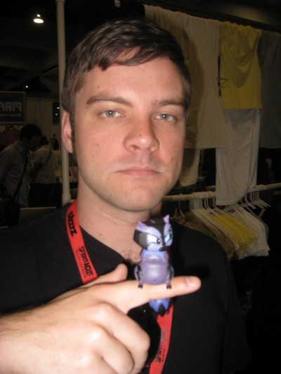 Nathan Hamill's Boris the Raccoon (yes Luke Skywalker's son)