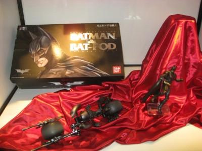 Batman and Bat Pod