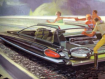 Syd Mead got his start working working for the auto industry in the 60s.