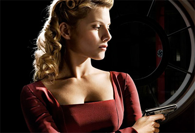 Shosanna Dreyfus from Inglourious Basterds played by Melanie Laurent.