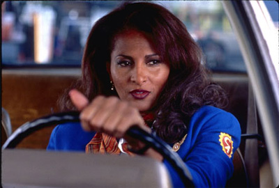 Jackie Brown as played by Pam Grier