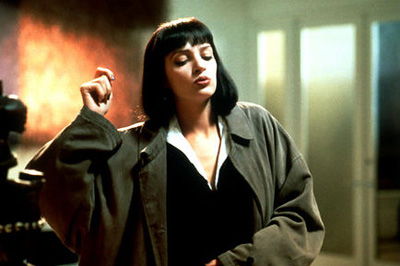 Mia Wallace as played by Uma Thurman