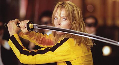 Beatrix Kiddo (Black Mamba) as played by Uma Thurman