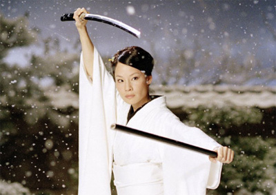 O-Ren Ishii (Cottonmouth) as played by Lucy Alexis Liu