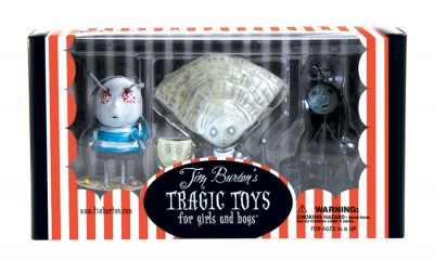 Tim Burton PVC Set - Oyster Boy Set: Oyster Boy, Junk Girl, and The Boy with Nails in His Eyes