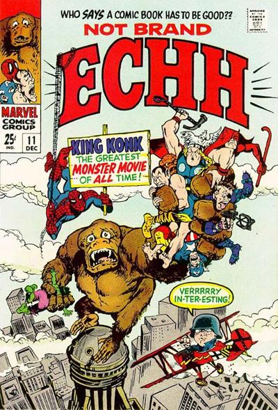 Not Brand Echh #11, Dec 1968