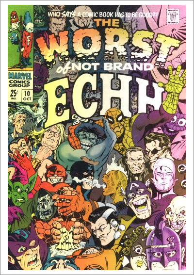 Not Brand Echh #10 (Oct. 1968). Cover art by Marie Severin.