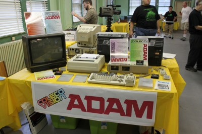 Vintage Computer Festival East 6.0: A Coleco Adam display