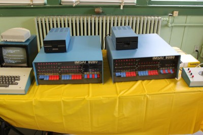 Vintage Computer Festival East 6.0: Two IMSAI 8080s