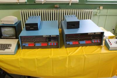 Vintage Computer Festival East 6.0: Two IMSAI 8080s