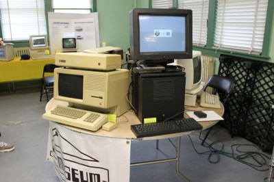 Vintage Computer Festival East 6.0: An Apple Lisa and a NeXT Cube
