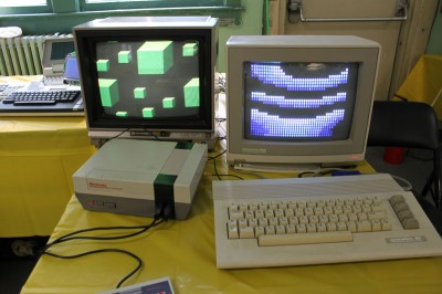 Vintage Computer Festival East 6.0: An old school Nintendo and C64