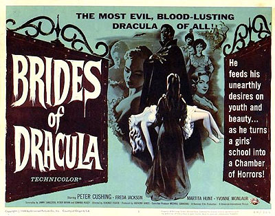 Brides of Dracula: poster from 1960