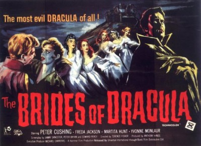 The Brides of Dracula: Poster from 1960