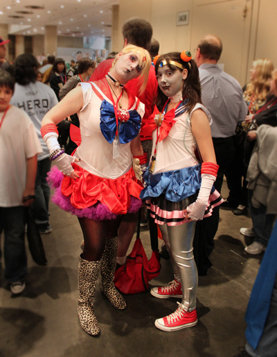 The Coolest Craziest Cosplay at the New York Anime Festival: Zombie Sailor Moon