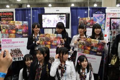 AKB48 at the New York Anime Festival 2009