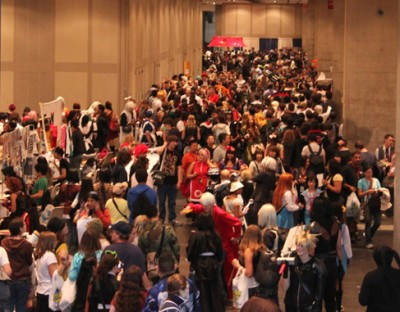 New York Anime Festival 2009: The place was packed...