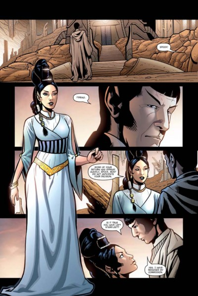 Star Trek: Spock: Reflections #3 page 5