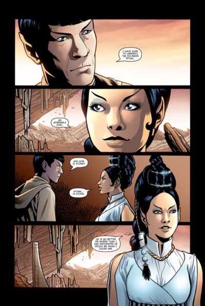 Star Trek: Spock: Reflections #3 page 6
