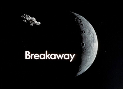 Space:1999: Title screen from Breakaway