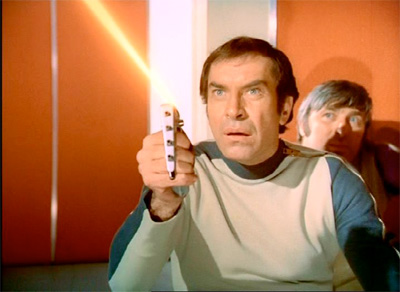 Space:1999 Martin Landau in the first episode Breakaway