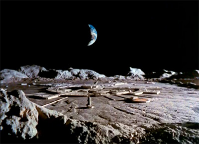 Space:1999 Moonbase Alpha from the episode Breakaway