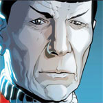 Spock is sad that you messed up his comic book!