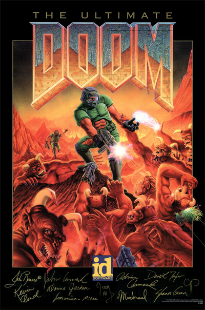 Don Ivan Punchatz: Illustrator of the first Doom package