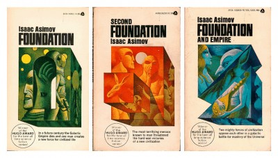 Don Ivan Punchatz: Illustrations for the Foundation Trilogy by Asimov