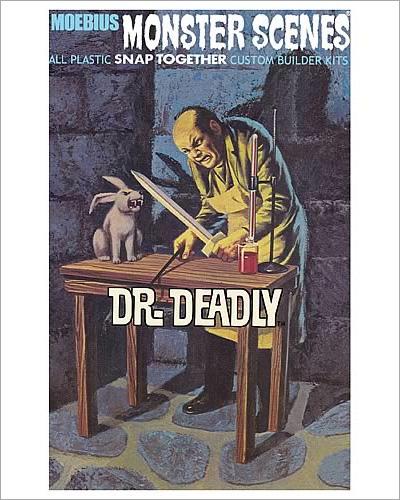 Monster Scenes Dr. Deadly Model Kit