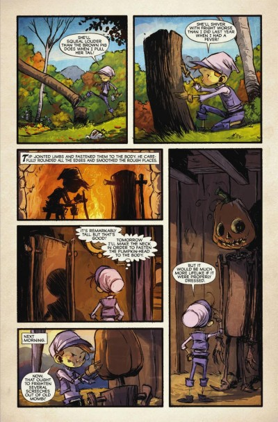 The Marvelous Land Of Oz #1: Page 5