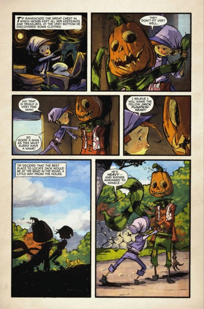 The Marvelous Land Of Oz #1: Page 6