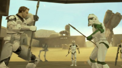 Star Wars Battlefront Elite Squadron: Screenshot
