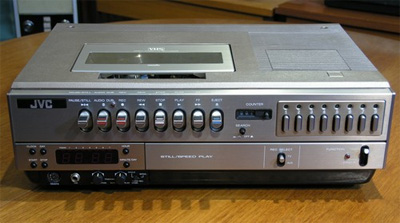 VHS Deck: The JVC HR3660-EK