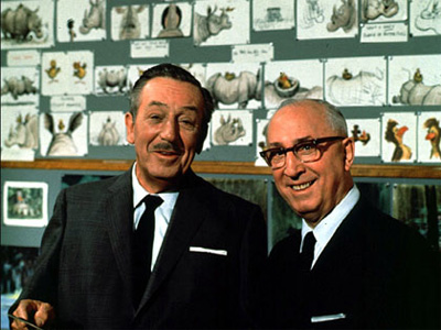 Walt and Roy Disney