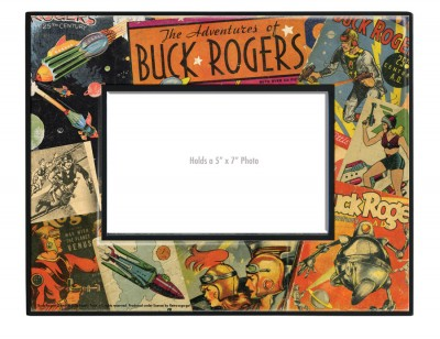 Buck Rogers Collage Frame
