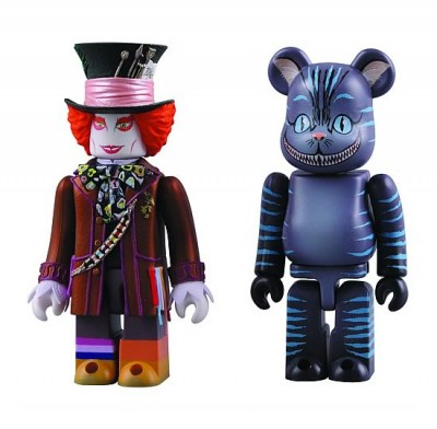 Alice in Wonderland Mad Hatter and Cheshire Cat Kubricks