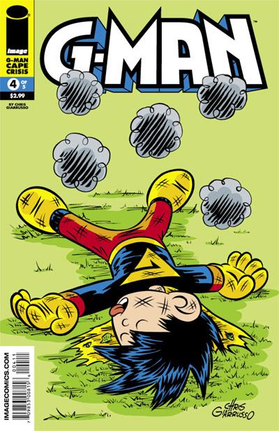 G-Man: Cape Crisis #4 - Cover Illustration
