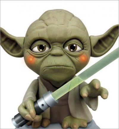 USB Yoda with Illuminated Light Saber