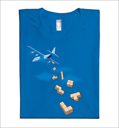 Airdrop T-Shirt by Glennz Tees