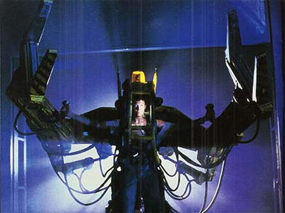The robot design from the film Aliens