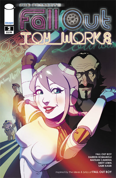 Fall Out Toy Works #2 Cover